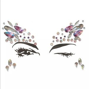 Other - Festival Crystal Rhinestone Face & Body Stickers